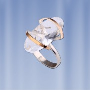 Серебряное кольцо Ноктюрн