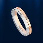 Обручальное кольцо. Золото & Бриллианты