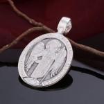 Образок православный, серебряный