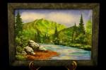 Картина из Камней Река