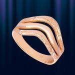 Кольцо из русского золота 585°