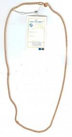 Золотая цепочка Ромбо двойной 55