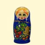 "Матрешка ""Россинка"" 7 фигур Синяя"