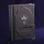 Библия Православие. Серебро & Кожа