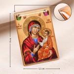 Икона Божья Матерь на магните