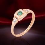 Золотое кольцо. Изумруды и Бриллианты