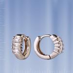 Серьги серебряные «Креоли»