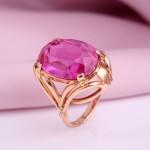 Рубин. Золотое кольцо