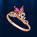 Золотое кольцо. Рубины & Бриллианты