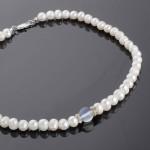 Ожерелье. Жемчуг & Лунный камень