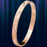 """Обручальное кольцо золотое """"Звездопад"""""""
