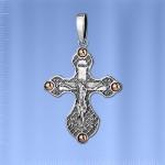 Крecт православный. Золото & Серебро