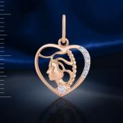 Дева Знак Зодиака Русское золото