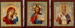 Православная Икона- Складень Иисус