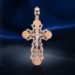 Крестик золотой нательный