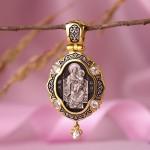 Икона Божией Матери Всецарица. Ангел-Хранитель. Образок