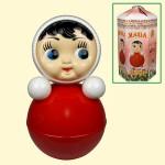 Русская Кукла - Неваляшка Маша