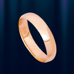 """Обручальное Кольцо из Золота """"Классик"""""""