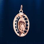 Золотая Икона Богородица