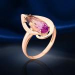 Кольцо золотое с Аметрином