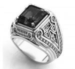 Мужское кольцо-печатка