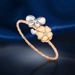 Russischer Ring. Bicolor
