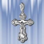 """Крест из серебра """"Праведный"""""""