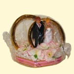 """Свадебные кольца на лимузин """"Жених и Невеста"""""""