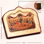 Икона печатная на деревянной доске