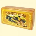"""Игра """"Русское Лото"""" в деревянном сундучке"""
