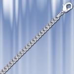 Цепочка серебряная Панцирная