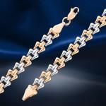 Золотой браслет из русского золота