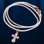 Крестик с гайтаном