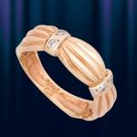 Золотое кольцо Косичка
