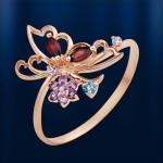 Золотая кольцо Летний день. Самоцветы