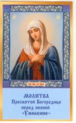 Умилиние Икона Богородицы Молитва