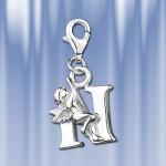 "Серебряная подвеска буква ""N"""