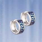 Серьги серебряные «Греческие»