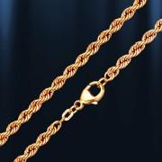 Цепочка золотая Верёвочка