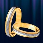 Обручальные Кольца Золотые ФИГАРО