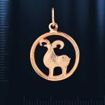 Знак Зодиака Овен Русское золото