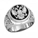 Перстень серебряный