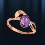 Кольцо Золото Александрит