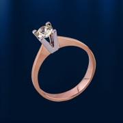 Кольцо золотое. Бриллианты