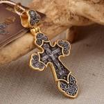Распятие Христово. Ангел-Хранитель. Православный крест