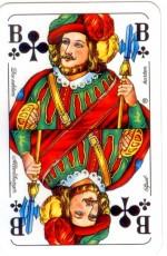 Игральные карты синие