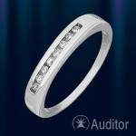 Кольцо из белого золота 585º с бриллиантами