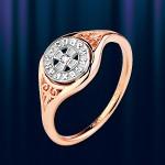 Кольцо- оберег. Русское золото