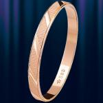 """Кольцо обручальное золотое """"Желание"""""""