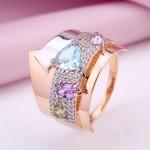 Золотое кольцо. Самоцветы